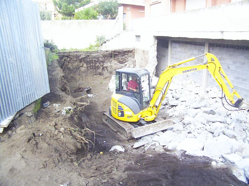 Demolizione e scavi