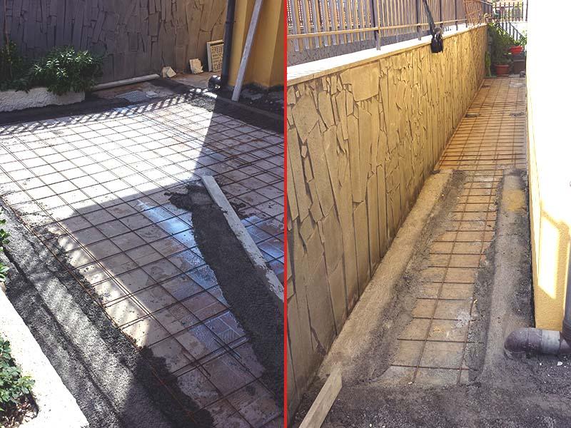 Nuova pavimentazione esterna