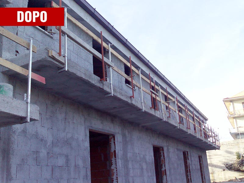 Nuova struttura villetta